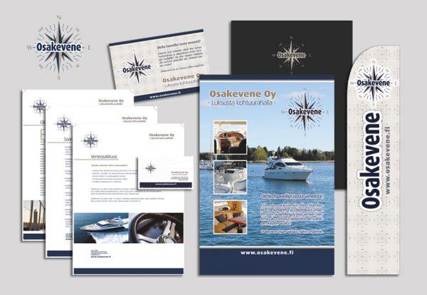 Logon ja markkinointimateriaalien suunnittelu